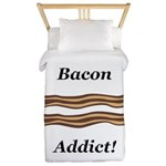 Bacon Addict Twin Duvet