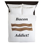 Bacon Addict Queen Duvet