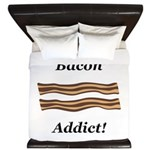 Bacon Addict King Duvet