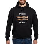 Bacon Addict Hoodie (dark)