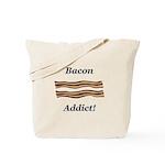 Bacon Addict Tote Bag