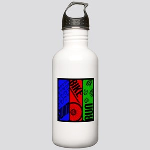 Triathlon TRI Swim Bike Run Water Bottle