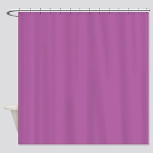 Radiant Orchid 2014 color 3 Shower Curtain