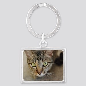 Sweet Cat Landscape Keychain