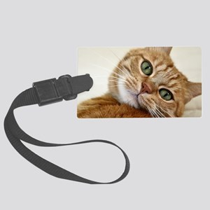 Sweet Cat Large Luggage Tag