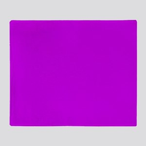 ca01e8 magenta orchid 2 Throw Blanket