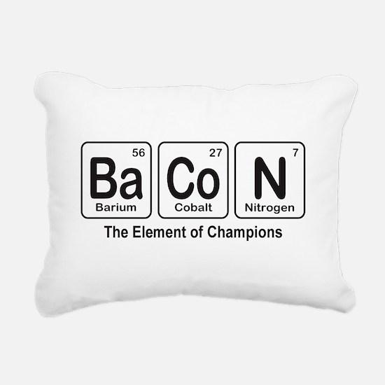 BaCoN Rectangular Canvas Pillow
