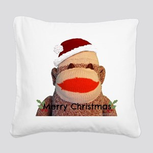 Merry Christmas - Square Canvas Pillow