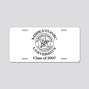 Class of 2007 Aluminum License Plate