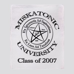 Class of 2007 Throw Blanket