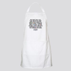 There Came a Day Apron