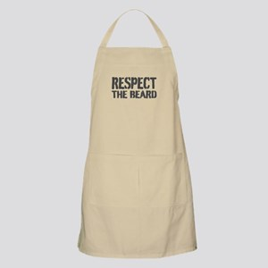 Respect The Beard Apron For Men | Khaki Beige