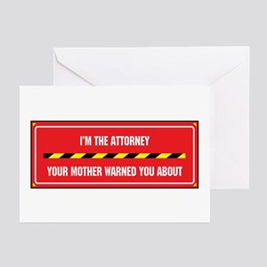 I'm the Attorney Greeting Cards (Pk of 10)