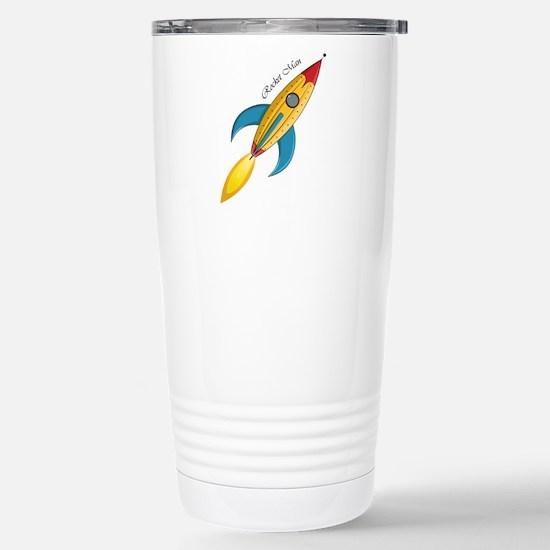 Rocket Man Rocket Ship Travel Mug