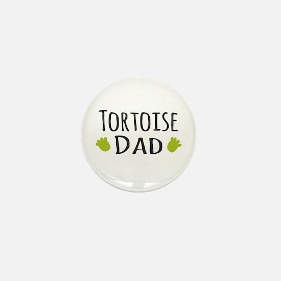 Tortoise Dad Mini Button