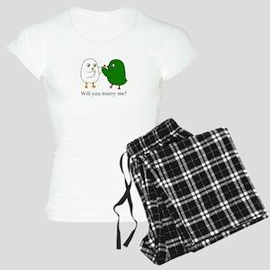 Will you marry me? Pajamas