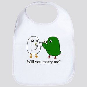Will you marry me? Bib