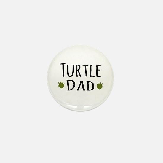 Turtle Dad Mini Button
