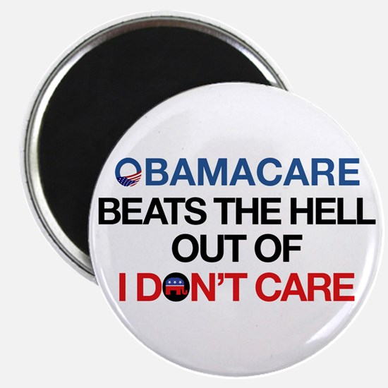 Obamacare Beats the Hell Out of I Don't Care Magne