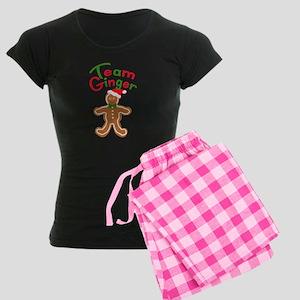 Team Ginger Gingerbread Women's Dark Pajamas