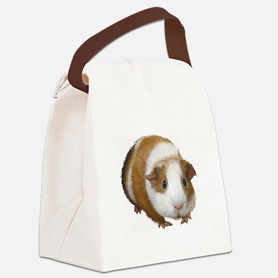Guinea Pig Canvas Lunch Bag