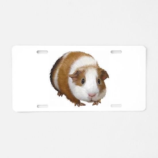 Guinea Pig Aluminum License Plate