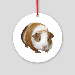 Guinea Pig Ornament (Round)