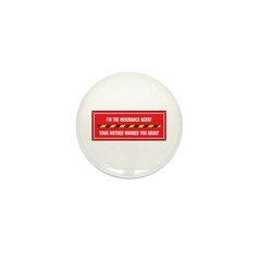 I'm the Agent Mini Button (100 pack)
