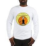 Halloween Black Cat Long Sleeve T-Shirt