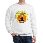 Halloween Black Cat Sweatshirt
