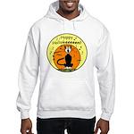 Halloween Black Cat Hooded Sweatshirt