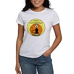 Halloween Black Cat Women's T-Shirt