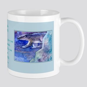 IN AN ICY LAND Mug