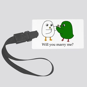Will you marry me? Luggage Tag