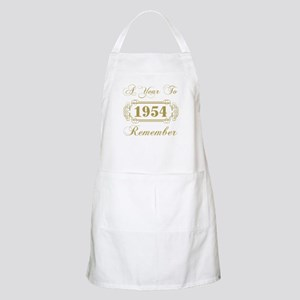 1954 A Year To Remember Apron