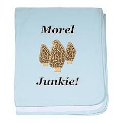 Morel Junkie baby blanket