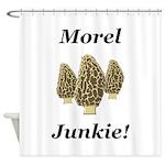 Morel Junkie Shower Curtain