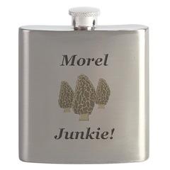 Morel Junkie Flask