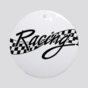 racing1 Ornament (Round)
