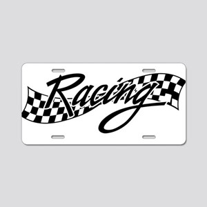 racing1 Aluminum License Plate