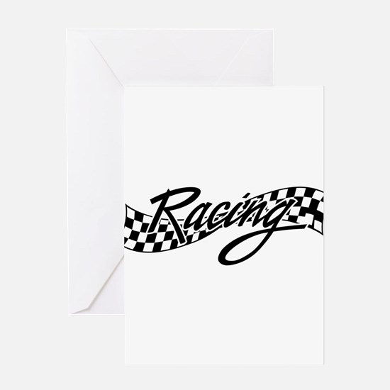 racing1 Greeting Cards