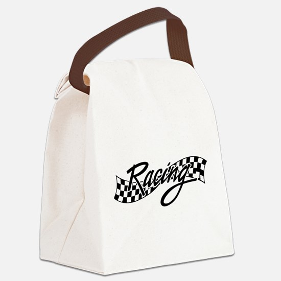 racing1 Canvas Lunch Bag