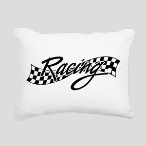 racing1 Rectangular Canvas Pillow
