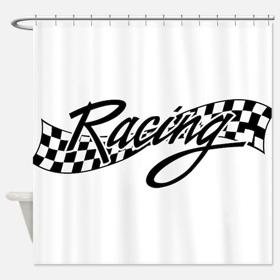 racing1 Shower Curtain