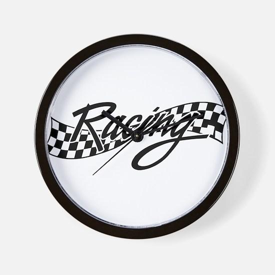 racing1 Wall Clock
