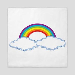 rainbow1 Queen Duvet
