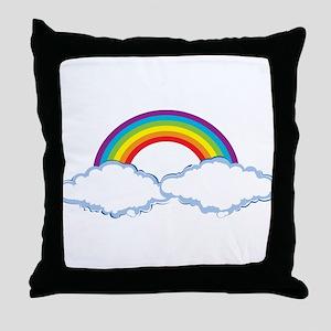 rainbow1 Throw Pillow