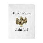 Mushroom Addict Twin Duvet