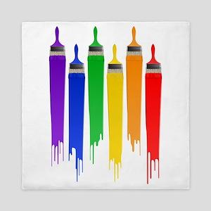 rainbowpainter Queen Duvet