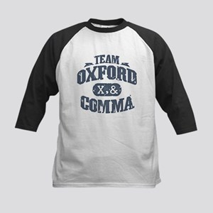 Team Oxford Comma Kids Baseball Jersey
